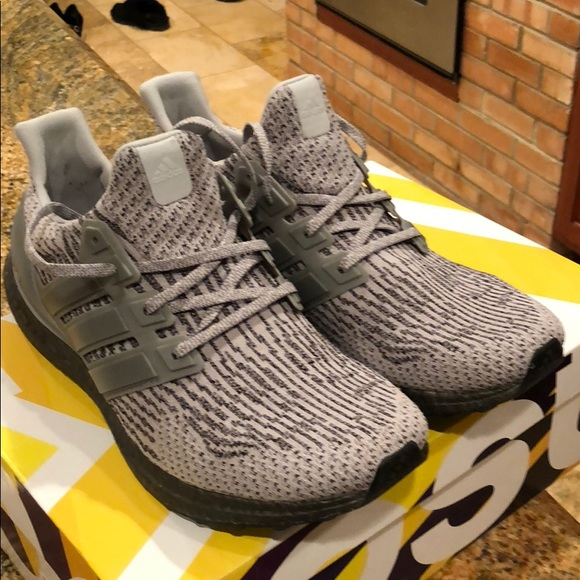 fab0e286430 adidas Other - Adidas UltraBoost triple grey .Men s size 11.5 US